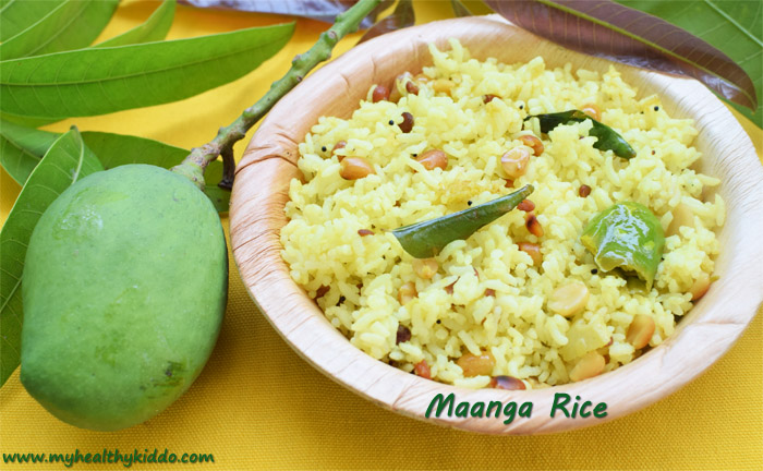 Raw Mango Rice Recipe-2