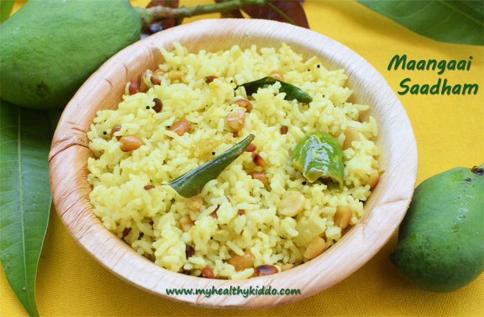 Raw Mango Rice Recipe-3