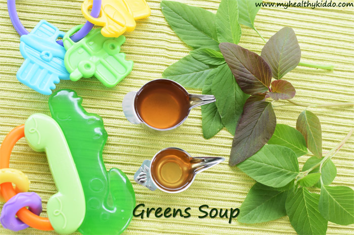 Spinach Soup for babies-1