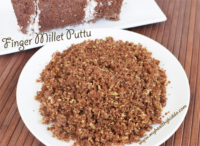 Sweet Finger Millet Puttu 2