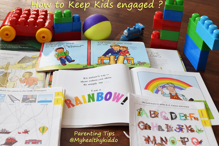 How to keep kids busy