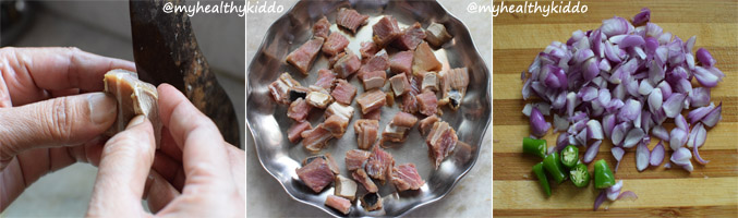 How to make dry fish dry step-2