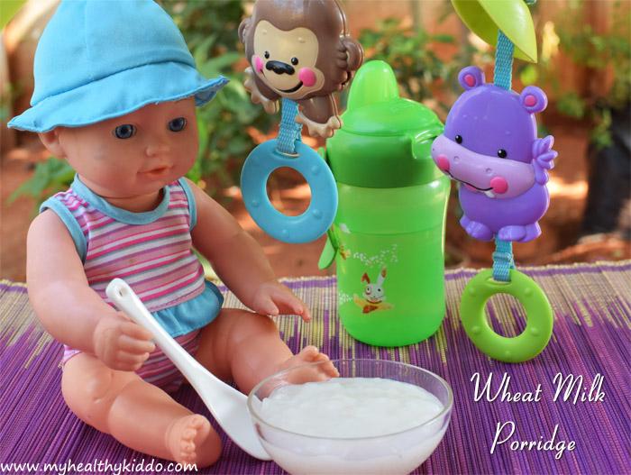 Godhumai kanji for babies recipe-1