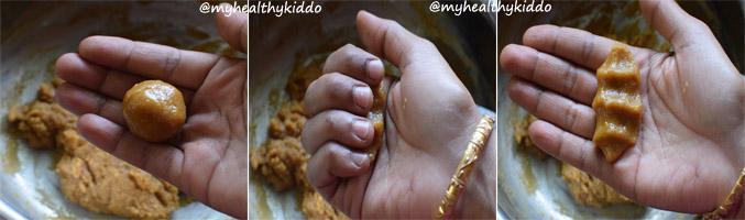 How to make Foxtail Millet Thinai kolukkattai step-3