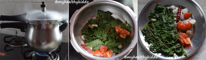 How to make arai keerai kadanja masiyal step-5