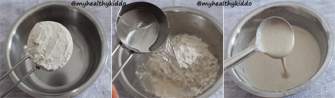 How to make Homemade Millet Ada for Ada Pradhaman Step-1
