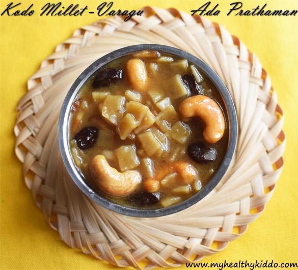Millet Ada Prathaman Recipe-1