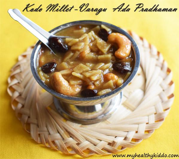 Millet Ada Prathaman Recipe-3
